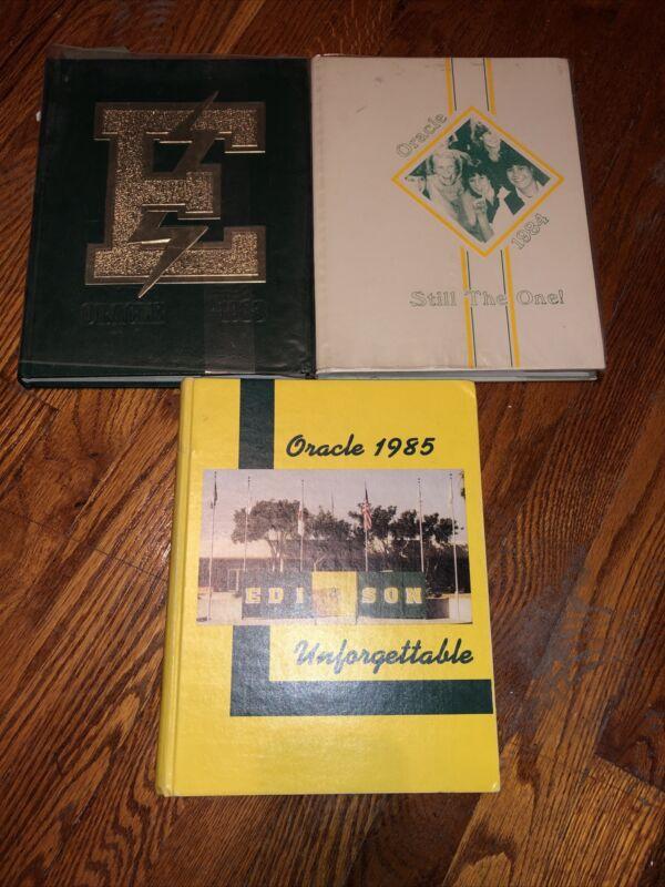 3 Scott Weiland Highschool Genuine Yearbooks Stone Temple Pilots Stp Rare Oop