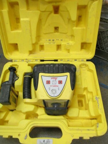 Leica Rugby 100 LR Self-Leveling Construction Rotating Laser w/receiver