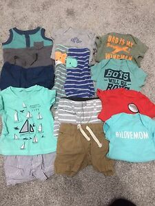 Baby boy clothes NB - 12 months