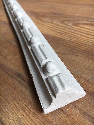 Stucco - Perlen verzierte Stuckleiste 110-550  Leiste aus Stuckgips a. 1,50m