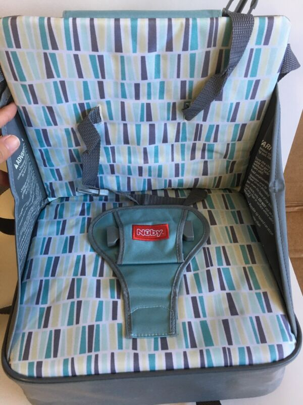 NUBY Easy Go Booster Seat Unisex Gray