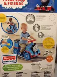 Power Wheels Thomas the Train with tracks