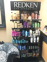 Hairdressing stand and REDKIN hair products East Perth Perth City Preview