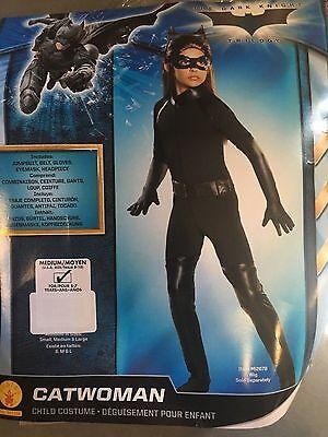Batman Dark Knight Rises Childs Catwoman Costume - Medium - Childs Catwoman Costume