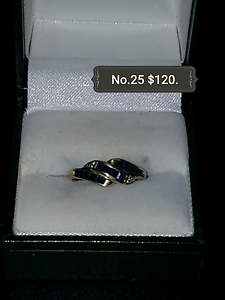 Genuine Gold Sapphire and Diamond Ring South Maitland Maitland Area Preview
