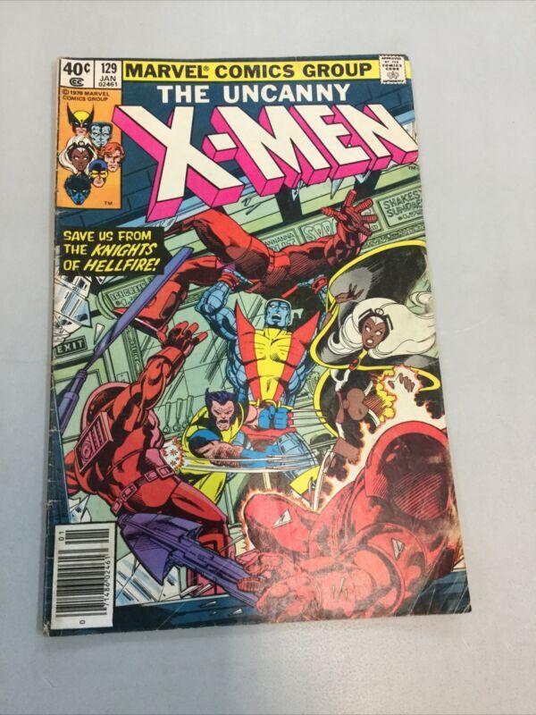 Uncanny X-men 129 Marvel Comics 1979 Read Description 1st Kitty Prude Emma Frost