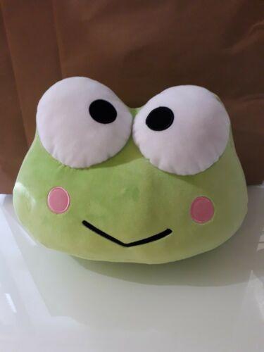 Sanrio Keroppi Head Cushion 9""