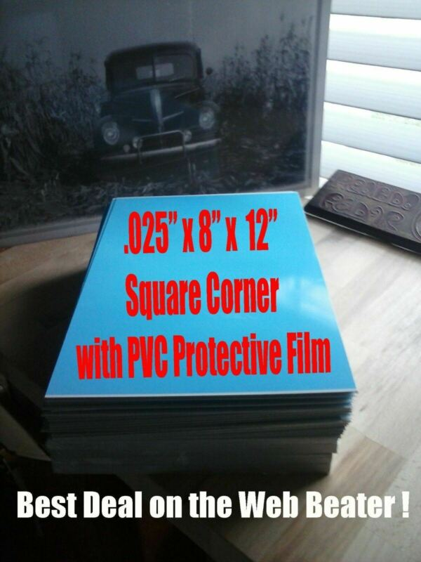 "Aluminum 8""X 12"" Dye Sublimation Photography Blanks $1.65 each-10PC Lots"