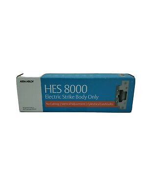Assa Abloy Hes 8000 Electric Strike Body Only 1224vdc Fail -secure