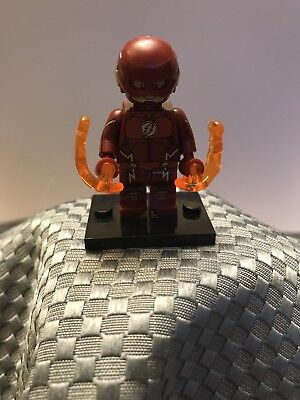 Custom DC Superhero Minifigure Flash CW Show The Flash ARRIVES IN 2-4 DAYS