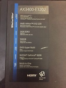 Selling Acer Aspire X3400
