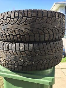 p235/60/18 inch Winter Tires / GOOD TREAD / GOOD DEAL