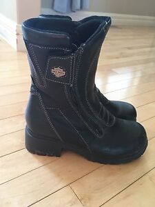 Harley Davidson Women's Motorcycle Boots Size 8
