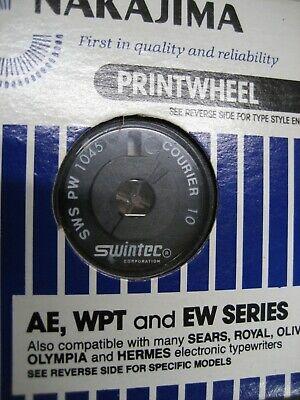 Swintec Nakajima Printwheel Wwarranty See What Fits Your Choice Of One Below