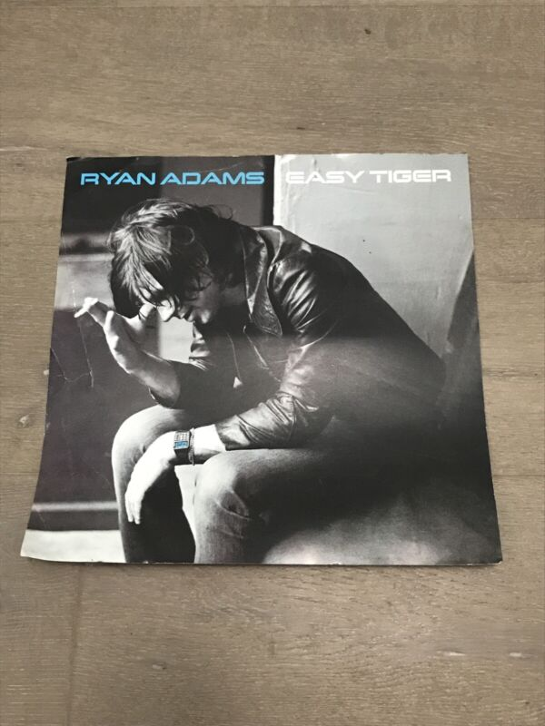 Ryan Adams Easy Tiger 2007 DOUBLE-SIDED CARDBOARD PROMO POSTER FLAT- Some Wear