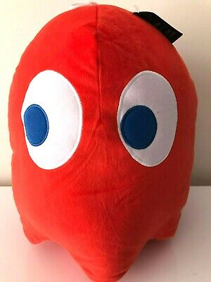 """Giant Red Ghost Pac-Man 12"""" Plush . New Licensed Toy. Soft. Jumbo Large"""