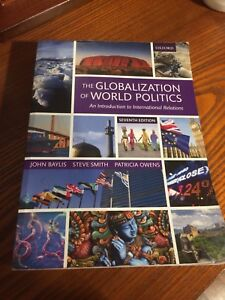 POLS 2940 The Globalization of World Politics seventh edition