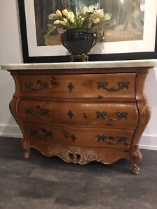 Bombay Chest with Quartzite top