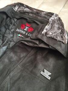 NEW Emporio & Co Dark Green Suede Jacket