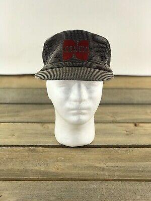 Vintage Cenex Brown Corduroy Snap Back Trucker Hat Made In USA