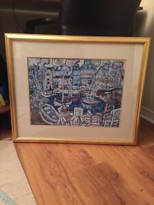 Modern Art picture solid frame