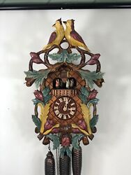 NEW  Genuine Black Forest 8 Day Musical Mechanical Cuckoo Clock