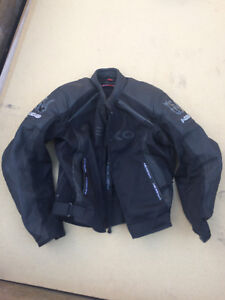 Nexo men's leather jacket