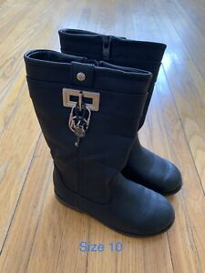 Micheal Kors girls/kid size 10 spring/fall boot