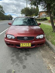 Wanted: 2000 Toyota Corolla Ascent 4 Sp Automatic 4d Sedan