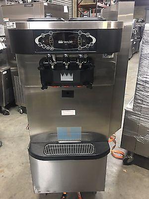 2012 Taylor C723 Soft Serve Frozen Yogurt Ice Cream Machine Warranty 3ph Air