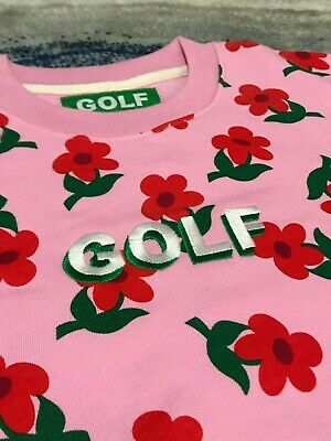 "Golf Wang ""Find Some Time"" PINK Sweatshirt Crewneck [SIZE S M L XL]"