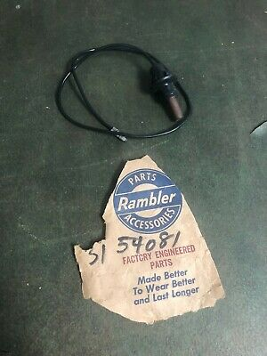 1958-59 AMC RAMBLER AMBASSADOR  HORN CONTACT WIRE ASSEMBLY  NOS AMC  120