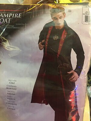 Adult Vampire Costume Gothic Halloween Fancy Dress---GOTH LOOK --NEW ! - Look Vampire Halloween