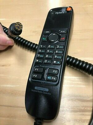 Sm20a2 Hytera Telephone Style Handset - Dtmf Keypad Dmr Tier Ii And Iii Ip54