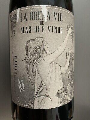 Rotwein Rioja La Buena Vid de Mas que Vinos Crianza 2013