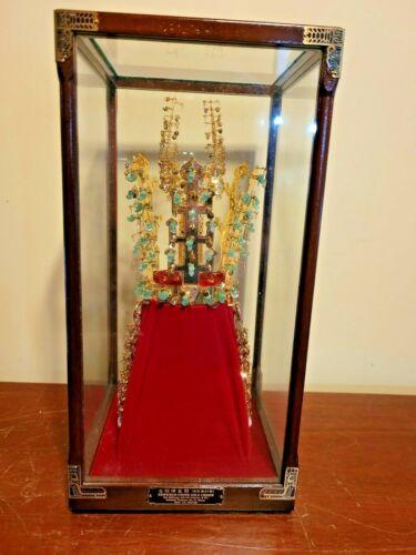 Kumkwan Chong Gold Crown National Treasure 87 Korea Old Silla 14 K GP