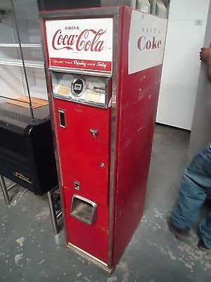 "ANTIQUE CAVALIER C-55E VINTAGE 15"" COCA-COLA VENDING SODA POP COKE MACHINE!!!!!!"