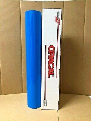 Oracal 651 1 Roll 24 X 10yd 30ft Sky Blue 084 Gloss Sign Vinyl