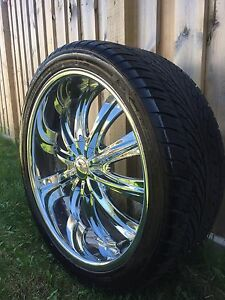 """Rims 24"""" and tires"""