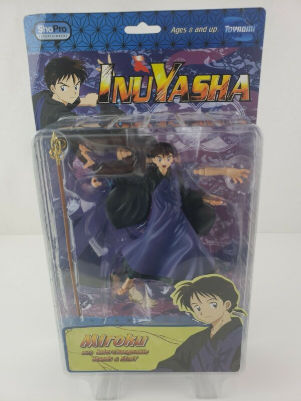 Toynami Inuyasha Miroku SHOPRO Hands & Staff Action Figure NEW RARE
