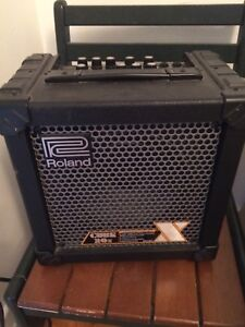 Roland Cube 20x Amp with acoustic setting