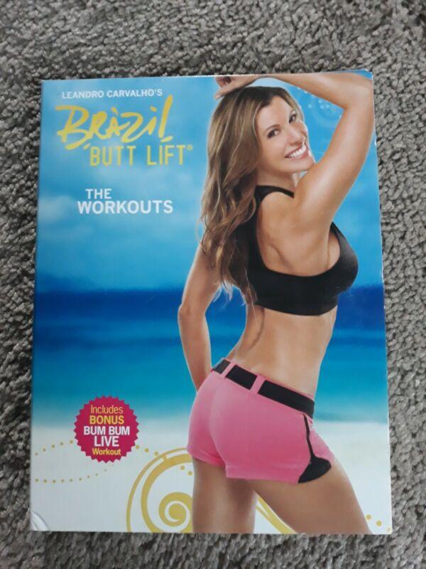 Leandro Carvalhos Brazil Butt Lift The Workouts 3 DVD set Beachbody