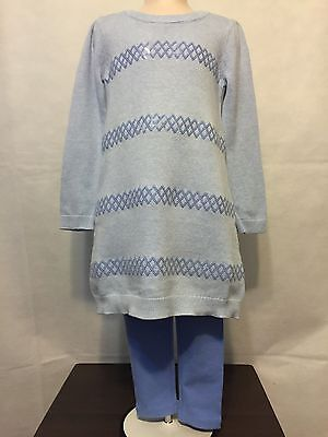 New/Tags Girl's Size 4 Gymboree 100% Cotton Sweater And Legging Outfit
