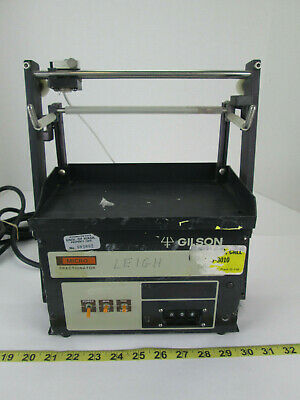 Gilson Medical Electronics Model Fc-80k Micro Fractionator Science Lab Equipment