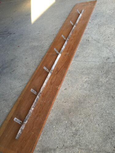 """antique rustic barn door track [ an 80"""" pc ]"""
