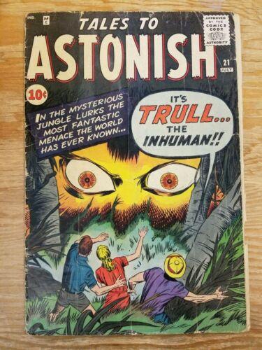 Tales to Astonish #21