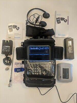 Rohde Schwarz Pr100 Portable Receiver Spectrum Analyzer 9 Khz To 7.5 Ghz