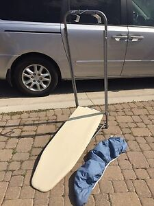 Over the door portable ironing board