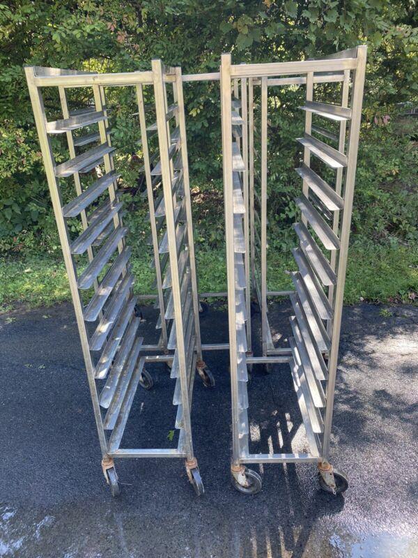 Stainless Steel Meat Platter Rack 10 Shelf Used