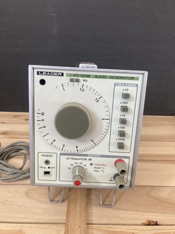 Leader Lag-120b Audio Generator